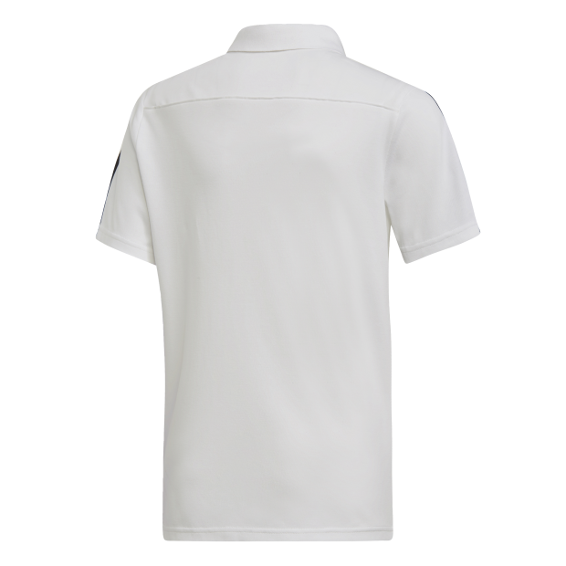 Tiro 19 Cotton Polo Shirt - Back Center View
