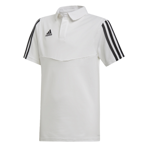 Tiro 19 Cotton Polo Shirt - Front View