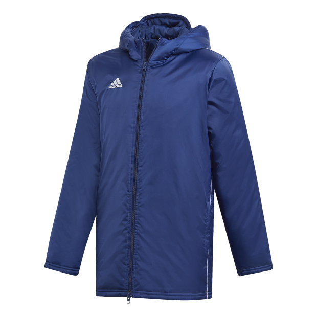 Core 18 Stadium Jacket Youth - Front View