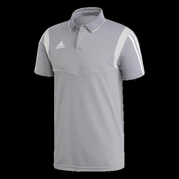 Tiro 19 Cotton Polo Shirt - Front View