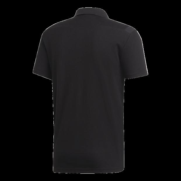 Tiro 19 Cotton Poloshirt - Back Center View