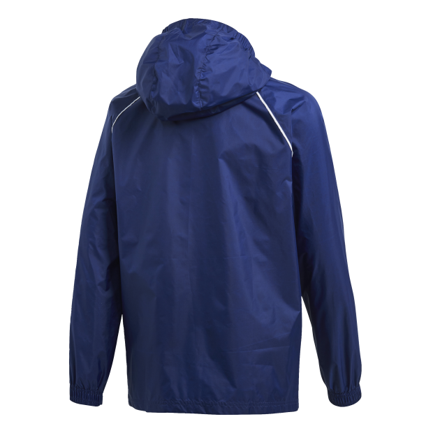 Core 18 Rain Jacket Youth - Back Center View