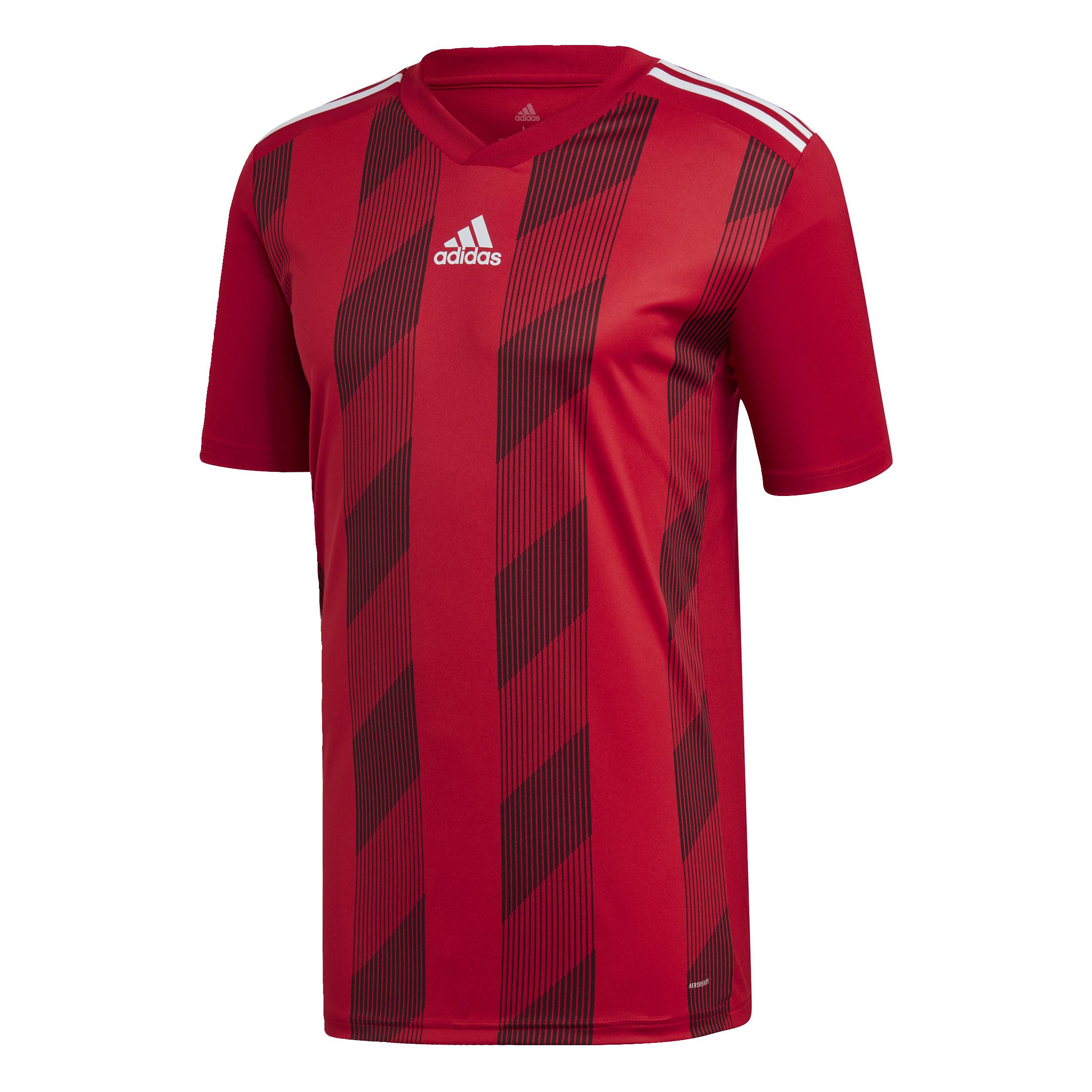 Mens Striped 19 Jersey Power RedWhite | Adidas Shirts